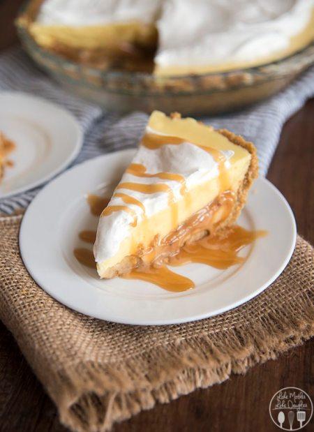 caramel banana cream pie 9