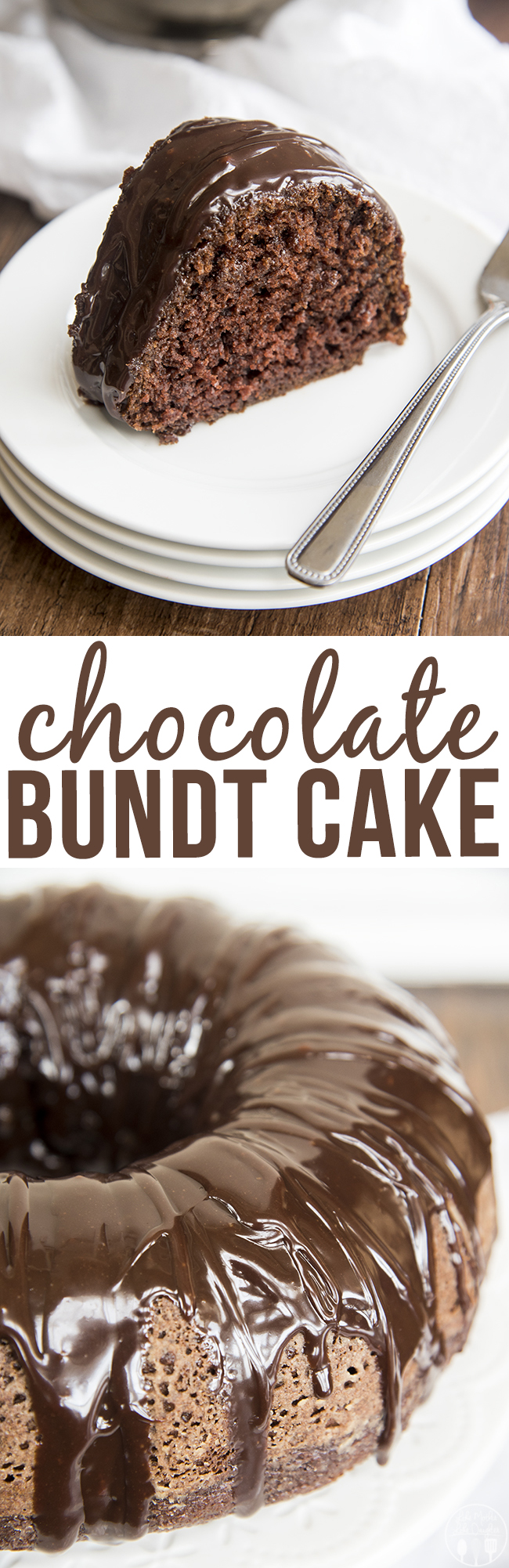Chocolate Bundt Cake - This is the best chocolate cake ever. Its perfectly moist, sweet, rich and chocolatey with the best chocolate ganache on top, just like a chocolate cake should be.