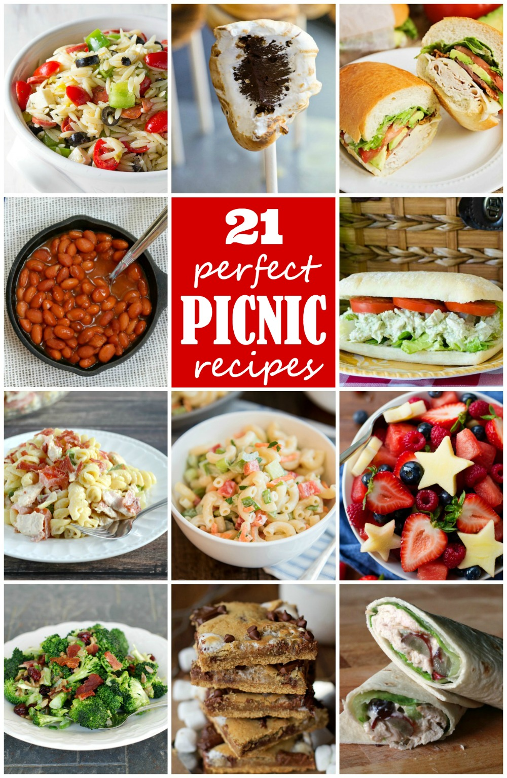 21 perfect picnic recipes