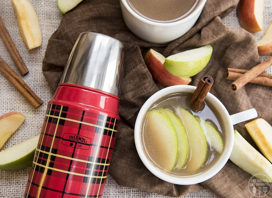 This apple cider recipe couldn't be easier, and is like fall comfort in a cup!