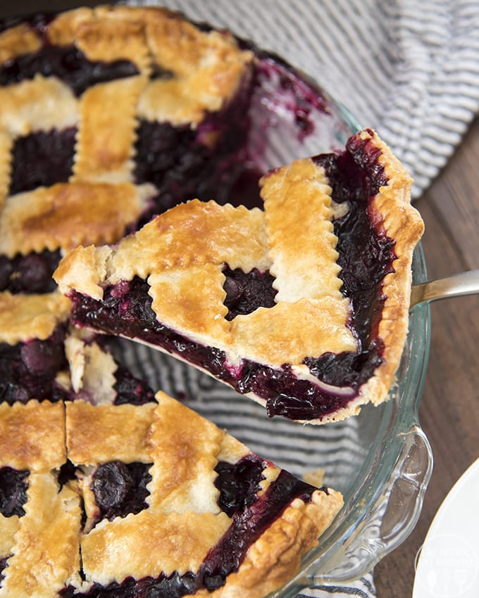 This blueberry pie recipe is the best!