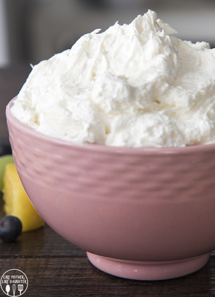 Marshmallow cream cheese fruit dip recipe