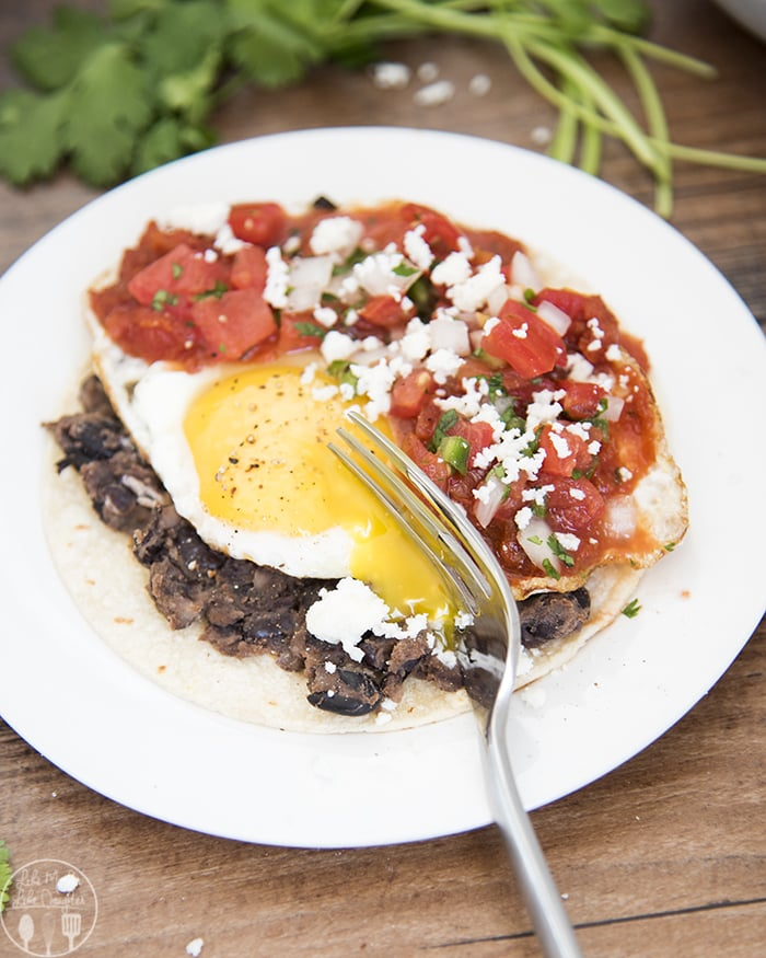 This huevos rancheros recipe is the perfect brunch!