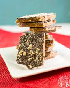Christmas Cashew Toffee
