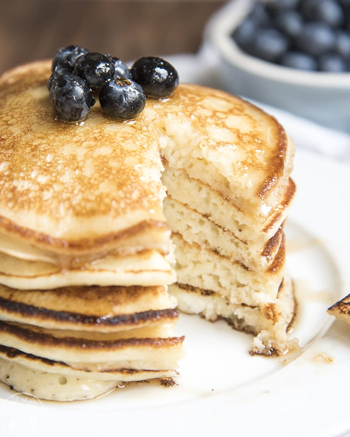 Ricotta Cheese Pancakes are perfect for breakfast!