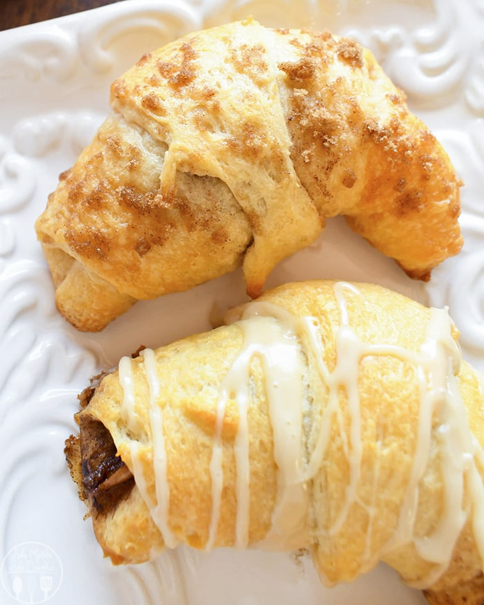 Crescent Roll Apple Pie