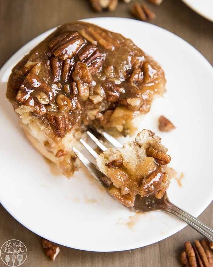 Pecan Sticky Buns are the perfect holiday breakfast!
