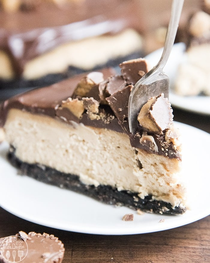 Peanut Butter Cheesecake Recipe: Like Mother, Like Daughter