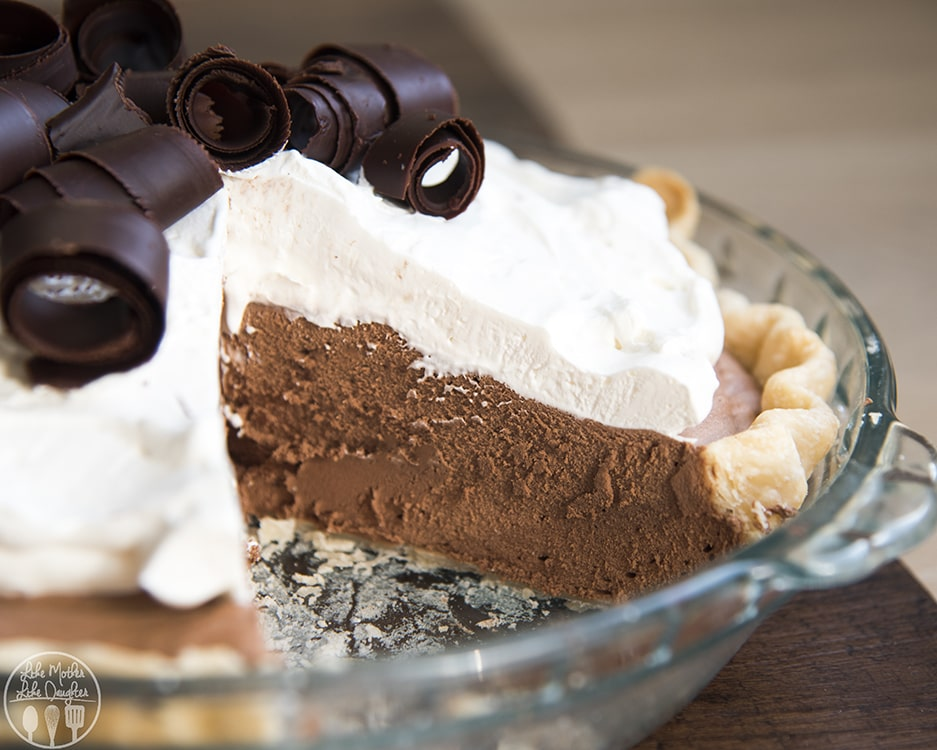 This French silk pie recipe has all the tips to get the creamiest chocolate pie ever!