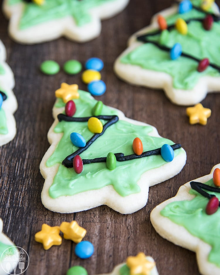 Christmas Tree Cookie Recipe