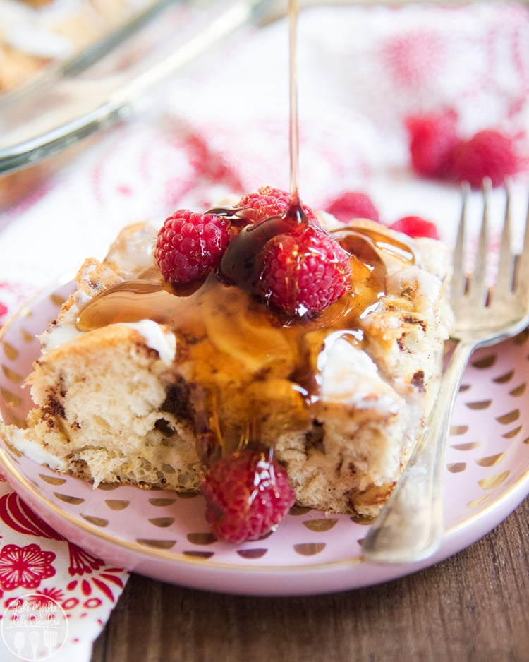 Cinnamon Roll French Toast Casserole recipe is perfect for Christmas morning