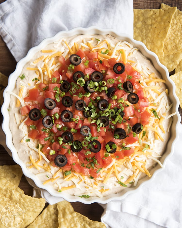 creamy Taco dip recipe