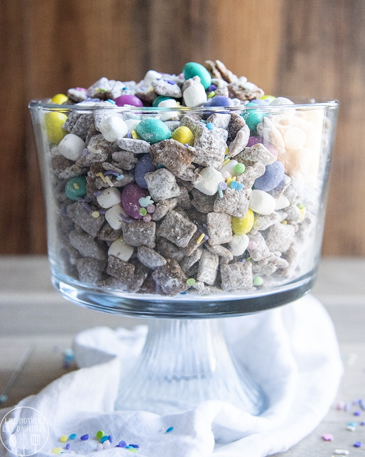 Easter Puppy Chow is the perfect holiday treat!