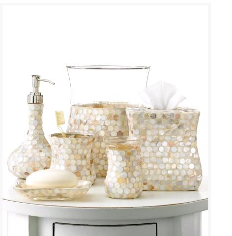 Glam Up your Desk From Bath Accessories!