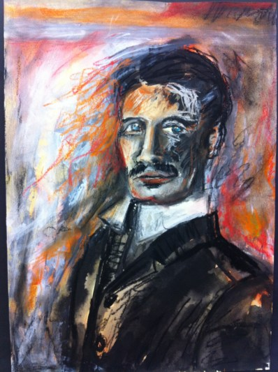 Professor Nathaniel Greythorne by Pamela Horsely
