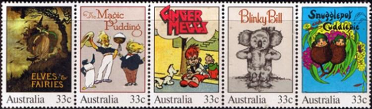 australia-1985-classic-australian-children-s-books-strip-fine-mint-24672-p