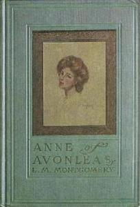 Cover art for Anne of Avonlea, published by L.C. Page and Company in 1909.