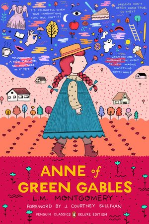 Cover art for Anne of Green Gables (Penguin Classics Deluxe Edition, 2017)