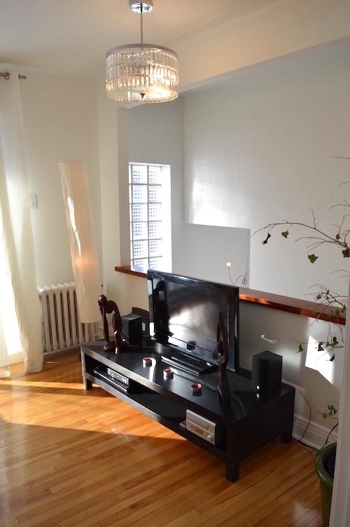 salon appartement meublé 5 chambres montreal, LM Montréal, Location meublée à Montréal tout inclus, location temporaire