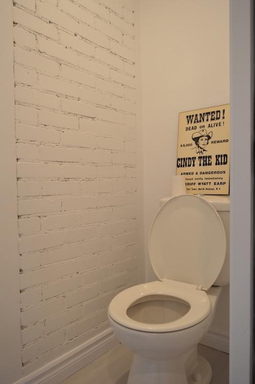 Salle d'eau avec un 2ème WC (pièce commune)