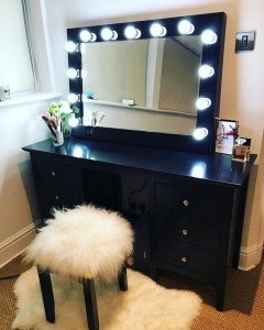 Vanity mirror with lights for bedroom 29