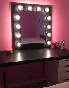Vanity mirror with lights for bedroom 39
