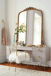 Vanity mirror with lights for bedroom 51