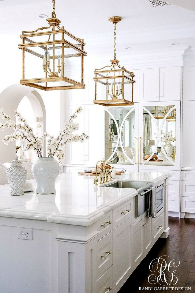 11 Pretty White Kitchen Design And Decor Ideas For Kitchen 29