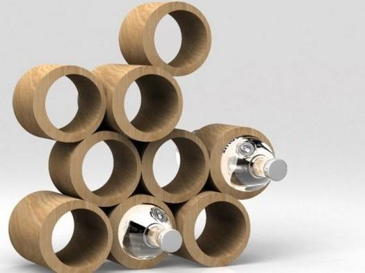 11 Unique Wine Rack Designs Ideas Using Bamboo 17