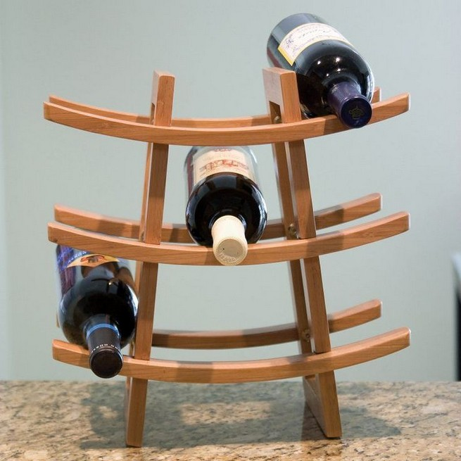 11 Unique Wine Rack Designs Ideas Using Bamboo 30