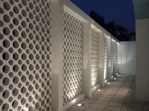 13 Awesome Breeze Block Wall Backyard Inspiration Ideas 01