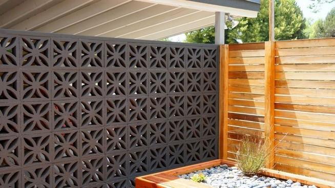 13 Awesome Breeze Block Wall Backyard Inspiration Ideas 33