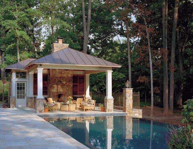 13 Casual Cabana Swimming Pool Design Ideas 02