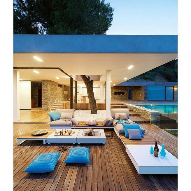 13 Casual Cabana Swimming Pool Design Ideas 04