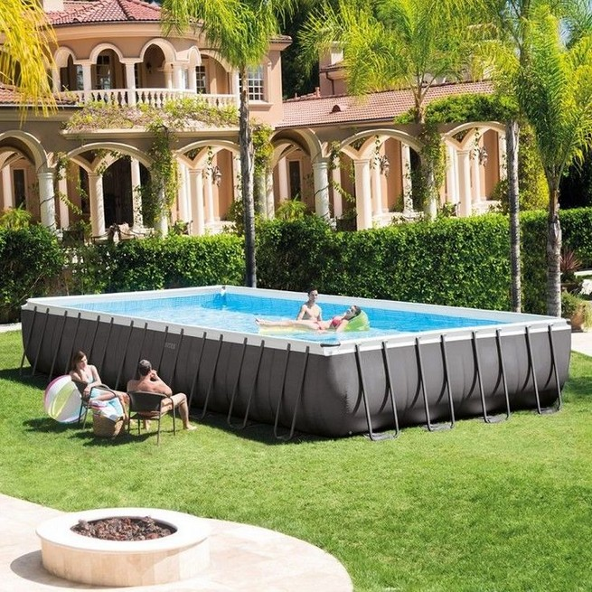 13 Casual Cabana Swimming Pool Design Ideas 16