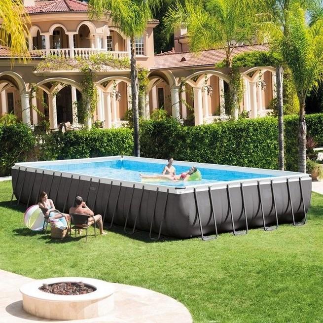 13+ Casual Cabana Swimming Pool Design Ideas - lmolnar on Small Pool Cabana Ideas id=34341