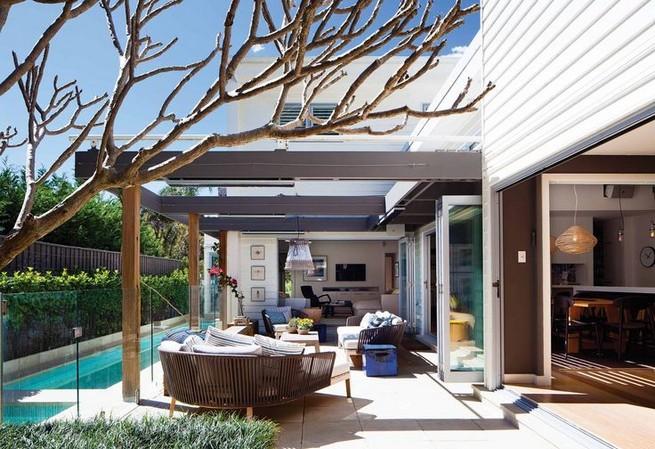 13+ Casual Cabana Swimming Pool Design Ideas - lmolnar on Small Pool Cabana Ideas id=78050