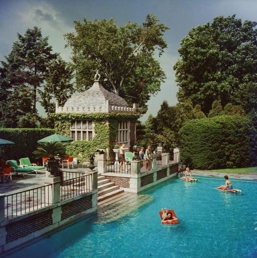 13+ Casual Cabana Swimming Pool Design Ideas - lmolnar