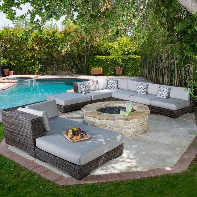 13 Casual Cabana Swimming Pool Design Ideas 25