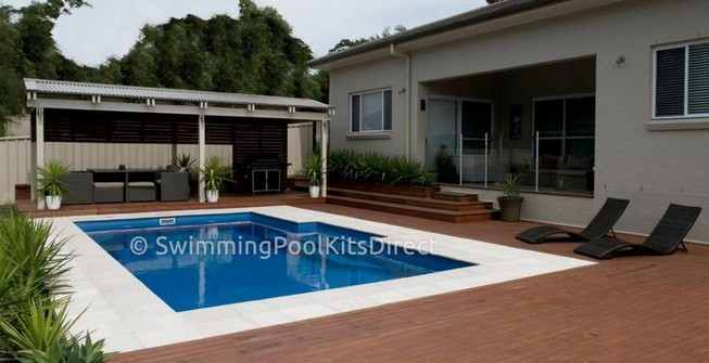 13 Casual Cabana Swimming Pool Design Ideas 36