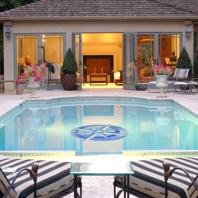 13 Casual Cabana Swimming Pool Design Ideas 40
