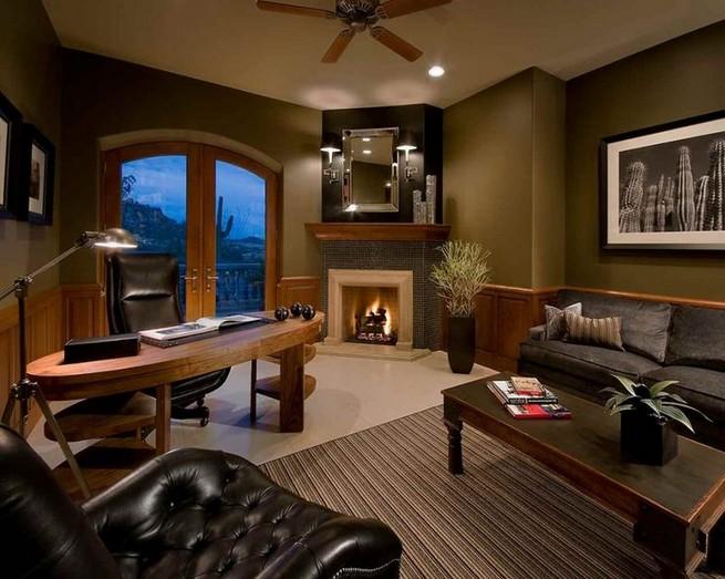 13 Elegant Dark Table Designs Ideas For Home Office 03