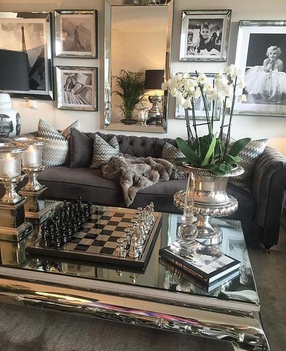 13 Elegant Dark Table Designs Ideas For Home Office 38