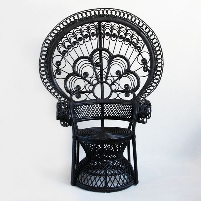 13 Stunning Black Rattan Chairs Designs Ideas 49