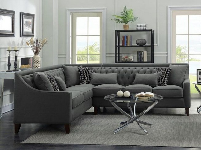 14 Attractive Small Living Room Décor Ideas With Sectional Sofa 09