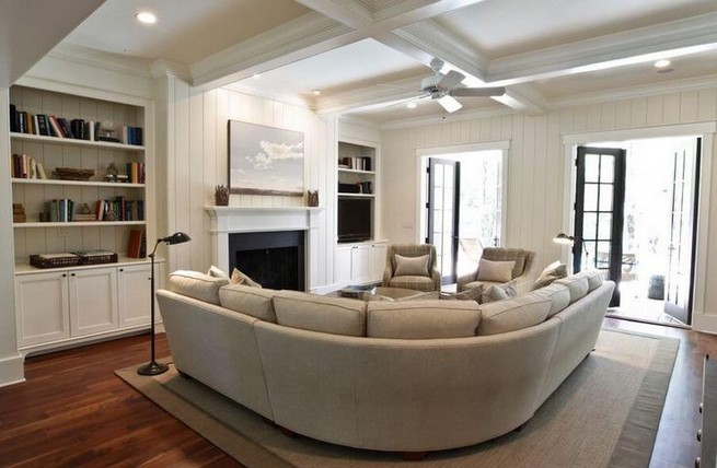 14 Attractive Small Living Room Décor Ideas With Sectional Sofa 49