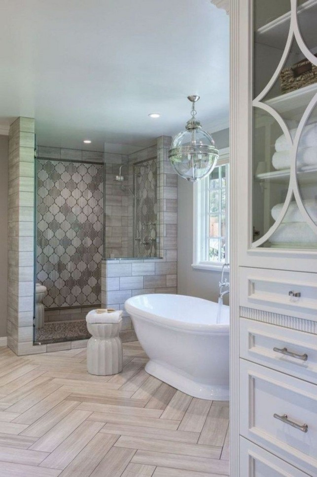 14 Delightful Bathroom Tub Shower Combo Remodeling Ideas 15
