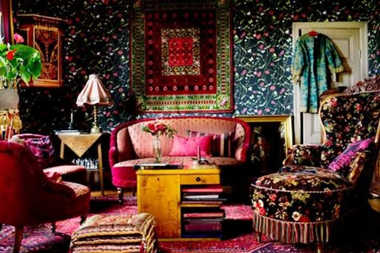 14 Incredible Colorful Bohemian Living Room Ideas For Inspiration 45