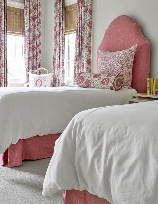 15 Charming Pink Kids Bedroom Design Decorating Ideas 04