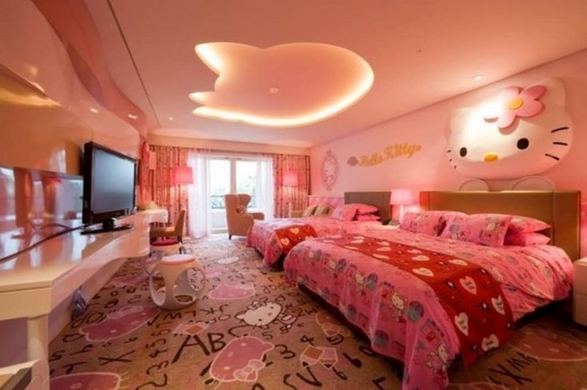15 Charming Pink Kids Bedroom Design Decorating Ideas 47